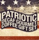 Patriotic Decaf Gourmet Coffee Gift Set